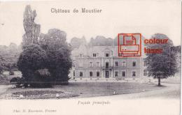 Château De Moutier - Façade Principale - Frasnes-lez-Anvaing