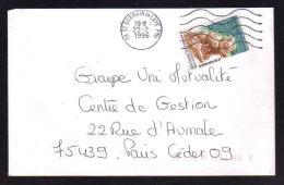 N° 2988 -  2.80 Civilisation Arawaks / ST GERMAIN EN LAYE 22.02.1996....usage Court....bonne Date - 1961-....
