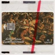 WF8A   NSB  -  Danse Traditionnelle   -  Tirage  07 - 1995 - Wallis And Futuna
