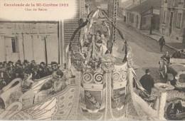 Nancy 54 Cavalcade De La Mi - Carême 1922   Char Des Reines   Cpa Tb - Nancy