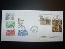 11.6.1985 M. SANDRO PERTINI PRESIDENT ITALIE STRASBOURG CONSEIL EUROPE TIRAGE LIMITE ??? Ex. - 6. 1946-.. Repubblica