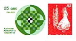 Nouvelle Caledonie Timbre Personnalise Prive Association Mathematics Competition Mathematiques Symbole Cagou Neuf - Non Classificati