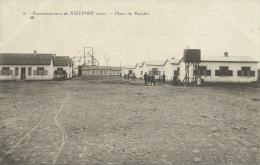 Nieuwpoort / Nieuport  - Reconstruction  - Place Du Marché  ( Verso Zien ) - Nieuwpoort