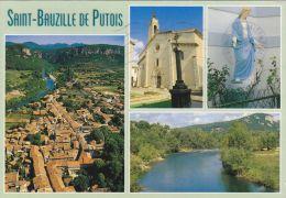 Cp , 34 , SAINT-BAUZILLE-de-PUTOIS , Multi-Vues - France