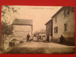 Cpa 38 SERMERIEU OLOUISE Fontaine Rue Principale Ref 90 - Frankrijk