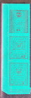 SAUMUR  MAURY N° 4/6 EN VERT NEUF** LUXE / MNH - Strike Stamps