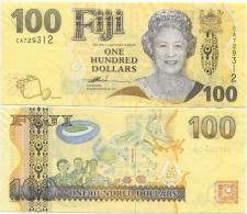 Fiji 100 Dollars 2007 UNC P-114 QEII - Fidji