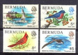 Naa1384 FAUNA VOGELS TROPICBIRD PETREL CARDINAL BIRDS VÖGEL AVES OISEAUX BERMUDA 1978 ONG/MH + Gebr/used - Birds