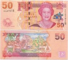 Fiji 50 Dollars 2007 UNC P-113 QEII - Fidschi