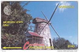 Barbados, BAR-10C, Morgan Lewis Mill, 10CBDC,  2 Scans. - Barbades