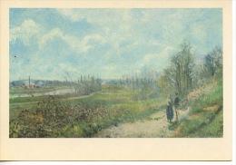 Pontoise  : La Sente Du Chou - Camille Pissarro Musée De Douai 59 N°9/10 - Pontoise