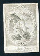 Image Pieuse 1821 Valkenberg Saint Paul - Devotion Images