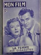 MON FILM -CINEMA- 8-2-1950-LA FEMME AUX CIGARETTES- IDA LUPINO CORNEL WILDE-RICHARD WIDMARK-SIMONE RENANT- - Kino/Fernsehen