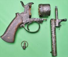 Epave / Relique De Revolver à Broche ; Pour Pièces ! - Sammlerwaffen