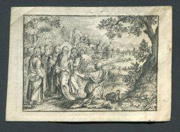 Image Pieuse  Velin 1797 Souvenir Pater Minderbroeder Frère Mineur A. Richel Amsterdam - Devotion Images