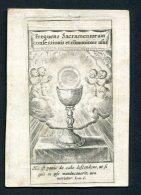 Image Pieuse Velin 1815   Amsterdam Saint Sacrement - Devotion Images