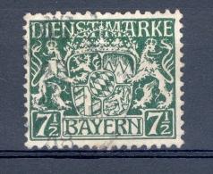 VARIÉTÉS 1916 / 18  N°  18   DIENSTMARKE  BAYERN  OBLITÉRÉ - Bayern