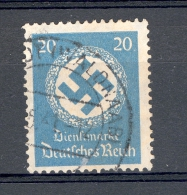 ALLEMAGNE SERVICE  REICH  ANNÉE 1934   N°  101  OBLITERE 2 SCANNE - Officials