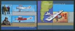 """CL 104 - P.8 - Argentine ** N° 2182 à 2187 (feuillets De Carnet) - """"Aerafila 2000"""" Expo Philat..Antoine De Saint-Exupéry - Argentine"""