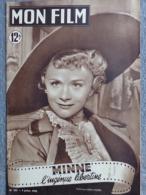 MON FILM -CINEMA- 5-7-1950- MINNE L´ INGENUE LIBERTINE- DANIELE DELORME-FRANK VILLARD-JEAN TISSIER-SIMONE PARIS- C.NICOT - Cinéma/Télévision