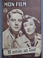 MON FILM -CINEMA- 2-8-1950- 30 SECONDES SUR TOKYO- JAPON JOHNSON-PHYLLIS THAXTER-ROBERT MITCHUM-TIM MURDOCK-VIVIEN LEIGH - Cinéma/Télévision