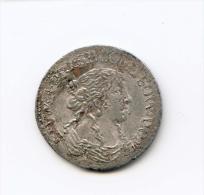 """12ème D´écu (luigino) """"Marquisat De TASSAROLO"""" Argent  1666 - Feudal Coins"""