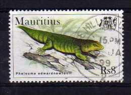 Mauritius - 1998 - 8 Rupees Geckos - Used - Maurice (1968-...)