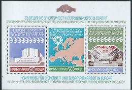 Bulgaria 1987 BF Nuovo** - Mi.176A  Yv.110ND - Blocchi & Foglietti
