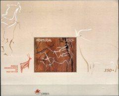 PORTUGAL, 1998, ARCHAEOLOGICAL PARK CÔA VALLEY , ENGRAVINGS RUPESTRES, AF#B.206, SS, MNH - Non Classés