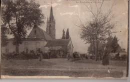 ST-PIERRE D'EYRAUD: Le Presbytère Et L'Eglise - France