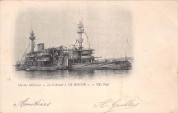 """¤¤  -  36  -  Marine Militaire  -  Le Cuirassé """" LE HOCHE """" En 1902 - Guerre"""