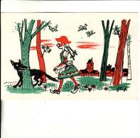 CPSM En 9x14 Représentant Le Petit Chaperon Rouge  //  TBE  -  Illustrateur FLIP - Other Illustrators