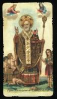 S. NICCOLO' SAN NICOLA S. NICOLAUS   BARI   ANCIEN  ANTICO   SANTINO HOLY CARD CONDIZIONI COME DA  FOTO   **** - Devotieprenten