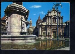 L307 Catania, Piazza Duomo Con Fontana - Ed. Cadet/fotorapid Color Terni - Catania