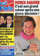 Ici Paris 2530 Paul Belmondo Sabatier Lansbury Manuel Gelin Villemin Lahaye Jacques Rouland Jean Seberg Sevran Adamo - People