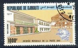 Dschibuti - Mi.Nr.   512     - Gestempelt     Weltposttag - Dschibuti (1977-...)