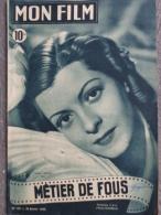 CINEMA-MON FILM-126-1-1949- METIER DE FOUS-LISETTE LANVIN-GABY SYLVIA-HENRI GUISOL-ROBERT DHERY-GLENN LANGAN-A. CLEMENT - Kino/Fernsehen