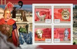 GUINEA 2011 - History Of Art: Ancient Rome - YT 5911-4, Mi 8770-3 - Archeologia