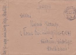 Feldpost WW2: To Ausbildungsstab 5/246 Dtd Limburg 2.5.1943 - Cover Only  (G45-13) - Militaria