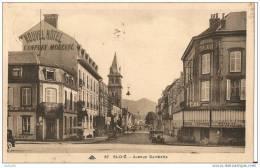 88 - SAINT DIE - Avenue Gambetta - Divisé - Circulé - Edit. Cie Alsacienne Des Arts Phot.  (CPA 194) - Saint Die