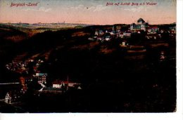 GERGISH-LAND Blick Auf Schloft Burg A. D; Wupper (Voir Scans: Recto Et Verso) - Bergisch Gladbach