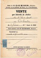 VP169 - 2 Affiches 1931/32 - étude De Me GOZIER  Huissier à COURBEVOIE - Posters