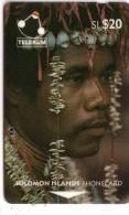 SALOMON SOLOMON MAN OF SANTA ANA ISLAND COQUILLAGE SHELL N° 02SDB.....20$  UT - Isole Salomon