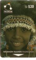 SALOMON SOLOMON YOUNG GIRL OF SULUFOU ISLAND COQUILLAGE SHELL N° 02SDA.....20$  UT