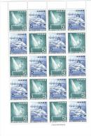 FILATELIA - MINIFOGLIO DI 10 - YEAR 1961 - Y&T #687/88 GIAPPONE JAPAN  - 16 INCONTRO SPORTIVO - Blocks & Sheetlets