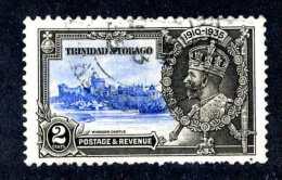 6024x)  Trinidad & Tobago 1935  ~ Scott # 43  Used~ ( Cat. $1.00 )~ Offers Welcome! - Trinité & Tobago (...-1961)