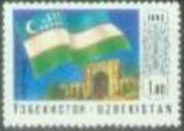 OZ 1992-3 FLAG, OZBEKISTAN, 1 X 1v, MNH - Briefmarken