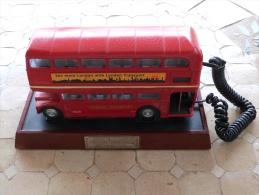 Original Téléphone LONDON BUS - Popular Art