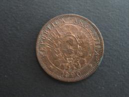 1890 - 2 Centavos Argentine - Argentina - Argentina