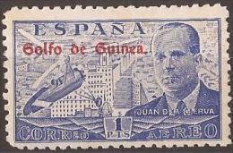GUI268-L4065TG.HELICOPTE ROS.Guinee.GUINEA  ESPAÑOLA Juan De La Cierva.Ingeniero.1942 (Ed 268**) Sin Charnela.MAGNIFICO - 1931-Hoy: 2ª República - ... Juan Carlos I